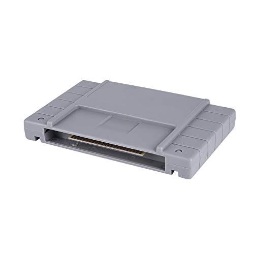 Seniorshop-MX Classic Vintage 16-bit Super Flash Game Drive Cartucho Flash TV Videojuegos Consola Tarjeta…