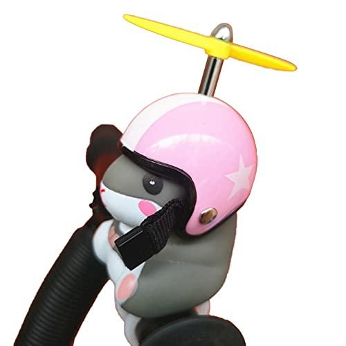 xiucai Campana de bicicleta de pie Dragonfly casco de bicicleta Bell roto...