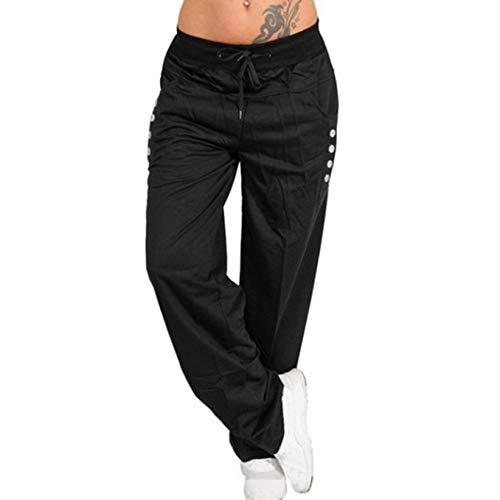 Pantalones Deportivos para Mujer, Pantalones Sueltos para Correr, Pantalones de chándal Rectos...