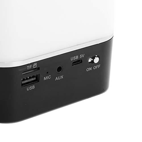 FEYV Altavoz Bluetooth inalámbrico, Lámpara de Mesa Colorida con versión táctil, Altavoz Bluetooth Duradero, Soporte para conexión Bluetooth, Oficina para Viajes en automóvil Desde casa