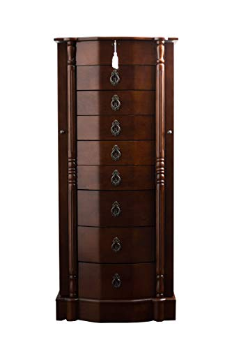 Hives and Honey Robyn Jewelry Armoire 41H x 1725W x 125D WALNUT