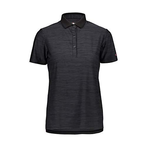 CMP – F.lli Campagnolo Damen Elastisches Poloshirt mit Dry Function-Technologie, Antracite Mel.-Bouganville, D40, 39T5746 48 EU