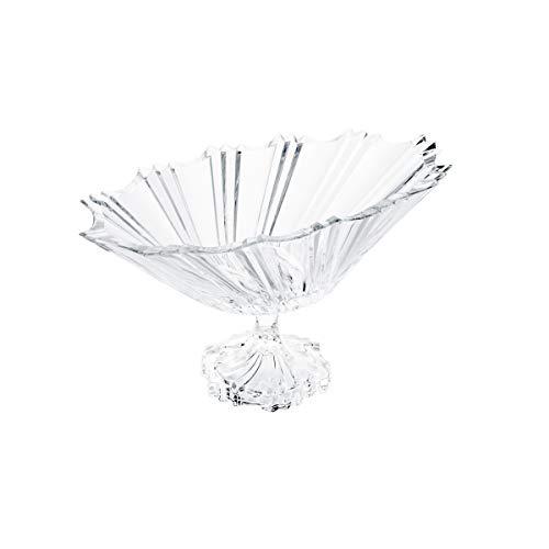 Fruteira de Cristal com Pé Rojemac Transparente