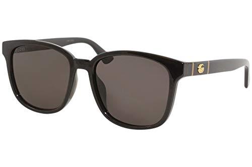 Gucci GG0637SK BLACK/GREY 56/18/150 Occhiali da sole Uomo