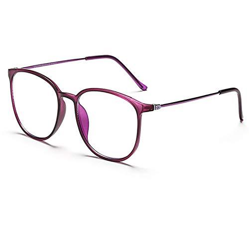 Anti-Strahlung blaue Brille Computer-Handy-Ausrüstung Brille kann Kopfschmerzen UV-Anti-Augenermüdung schwarzen Rahmen Sex Brille-Translucent verhindern