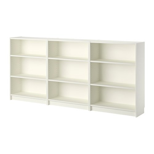 VICLLAX Wood 5-Shelf Bookcase Layer Adjustable Mordern Bookshelf for Home and Office, White