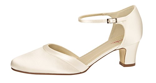 Rainbow Club Damen Anika Pumpe, Ivory Creme