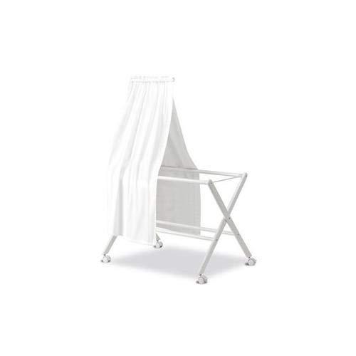 Pirulos 84100001 - Dosel con organza, color blanco