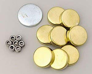 Milodon 34038 Brass Freeze Plug Kit for Ford 429/460