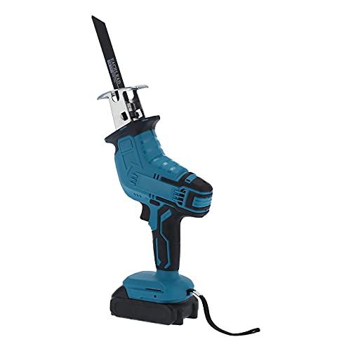 Reciprocating Saw Electric Hand‑Held Cutting AC 80‑240V Cutting Tool Set Cordless Reciprocating Saws for Metal Wood Plastic Cutting(U.S. regulations)