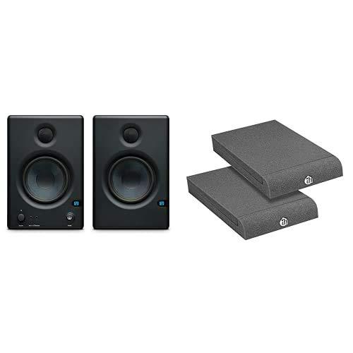PreSonus Eris 4.5 Studiomonitor Paar & Adam Hall Stands PAD ECO 1 - Absorberplatte für Studio Monitor 170 x 300 mm