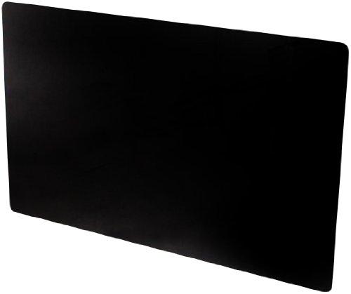 Adams Vitreo Glasverkleidung für Heizkörper, klein (900 mm Länge), schwarz
