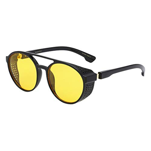 VECDY Gafas De Sol Polarizadas, Hombre Protección Contra La Radiación De La Moda De Los Hombres Gafas De Sol Retro Super Ligero Marco Gafas Mujeres De Playa, Fiesta, Conducir