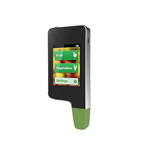 Ashley GAO Medidor de concentración digital 3 en 1 Medidor de concentración de nitrato de alimentos de frutas vegetales de carne detección de agua dureza Radiaciones