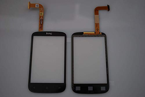 HTC Desire C Touch Screen Display LCD Scheibe Front Glas Schale Original Neu black