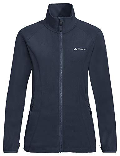 VAUDE Damen Women's Sunbury Jacket, leichte Fleecejacke Jacke, Eclipse, 38