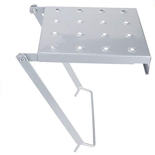 Bicaquu Plataforma de Escalera Escalera móvil de Acero Sopo