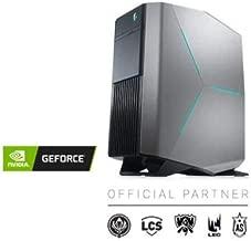 2019_Dell Alien.Ware Aurora R8 Gaming Desktop, 8th-Gen Intel Core i7 8700, 16GB DDR4 RAM, 256GB SSD +1TB HDD, Wireless + Bluetooth, NVIDIA GeForce RTX 2080 8GB GDDR6, Liquid Cooling, Windows 10
