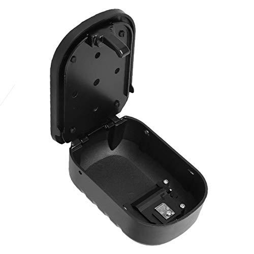 Caja de seguridad con organizador de llaves Caja de llaves de aleación de aluminio Caja de almacenamiento de contraseñas Caja de llaves de contraseña portátil para casas para obras de