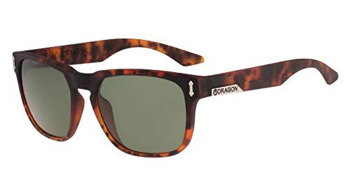 Dragon Dr513si Monarch Ll Gafas de sol, Matte Tortoise, 55MM, 19MM, 140MM para Hombre