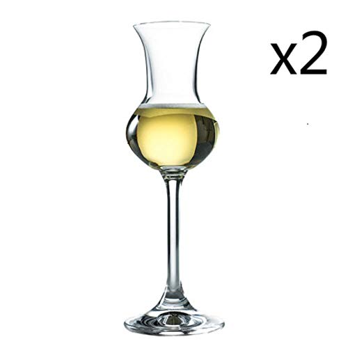 BWM kristal glas Rum likeur proeven champagne bril Whisky Whiskey wijnbeker, 1 stk, 80 ml