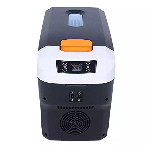 FIONAT 10L Coche Hogar Auto Refrigerador Mini Frigoríficos DC12 / 24V Congelador Refrigerador Calentador Mantener el calor fresco para el Coche Hogar Pinic Camping AC110 / 220V 31x44.5x22cm