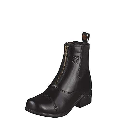 ARIAT Women's Heritage Rt Zip Paddock Paddock Boot Black