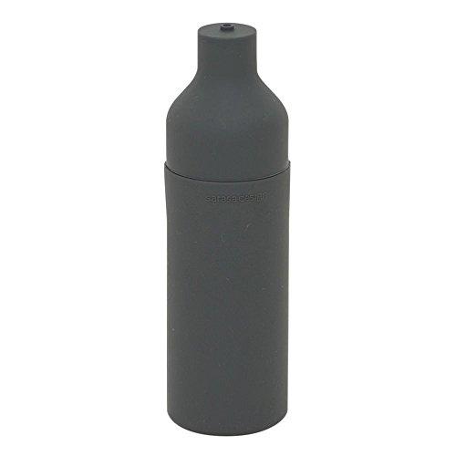 kc077cgy/スクィーズボトル 単品 チャコールグレー|スクイズボトル サラサデザイン ディスペンサー 食器用洗剤 洗剤ボトル