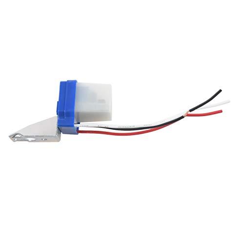 Fransande AC 12V 10A Lámpara Automática Interruptor Crepúsculo Sensor de Luz Interruptor Crepúsculo