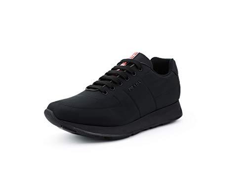 Prada Men's Nylon Piuma Trainer Sneakers, Nero (Black) 4E3355 (11 US / 10 UK)