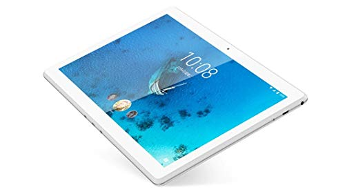Lenovo TAB M10 - Tablet de 10.1' HD/IPS (Qualcomm Snapdragon 429, 2 GB de RAM, 32 GB ampliables hasta 128 GB, Android Oreo, WiFi + Bluetooth 4.2), Color Blanco