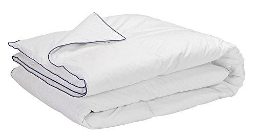 Sunlay - Edredón/Relleno nórdico natural 50% plumón 300gr/m², 150x220, cama 80/90 (Todas las medidas)