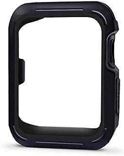 Aimtel kompatybilne z Apple Watch Series 4 etui/Apple Watch Series 5 etui ochronne do iWatch serii 4/5 (40 mm - czarny)