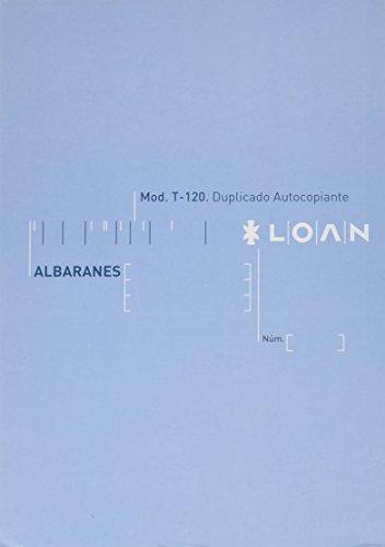 Loan T120 - Talonario, 10 unidades 🔥