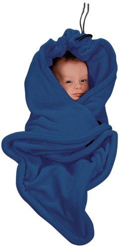HOPPEDIZ® Einschlagdecke MARINE aus Fleece für 3 & 5 Punkt Gurtsysteme