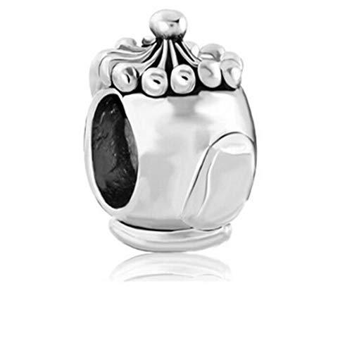 qnmbdgm Ornamenten Pasen Groen Faberge Europese Bedel Kralen Bedel Kralen Diy Handgemaakte Ornamenten Amulet Fit Pandora Armband Ketting