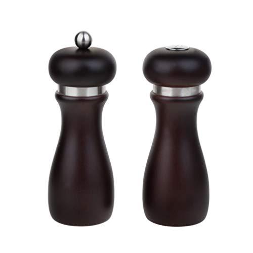 HLD Houten Slijpfles, gemalen peper, zwarte pepermolen, handmatige multifunctionele set pepermolens