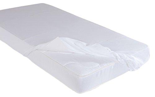 Lait Baby lsajl salvapipì Drap pour lit, blanc