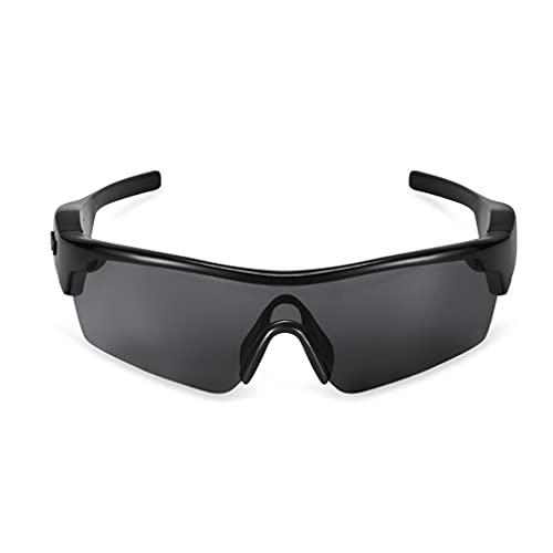 Gafas De Audio Inteligentes Gafas De Sol Deportivas Inalámbricas Bluetooth Auriculares Abiertos UV400 Bloqueo De Luz Azul, Música Y Llamadas Con Manos Libres, Para Ciclismo, Escalada, Senderismo