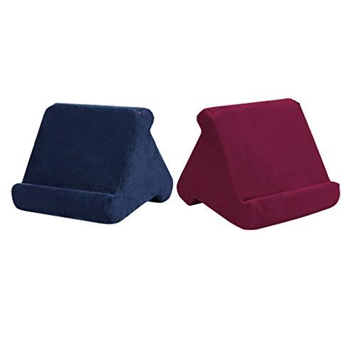 FLAMEER 2pcs Angle Adjustable Sponge Tablet Pillow Bed Stand Smartphone Rest Bracket