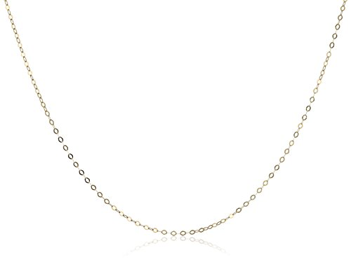 Miore Kette Gelbgold 18 Karat / 750 Gold Kette Belcher Kette 45 cm