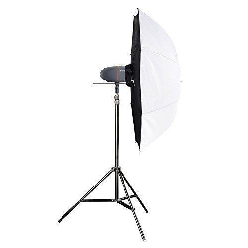 Walimex Pro Newcomer Studioset Mini 150 grau/orange