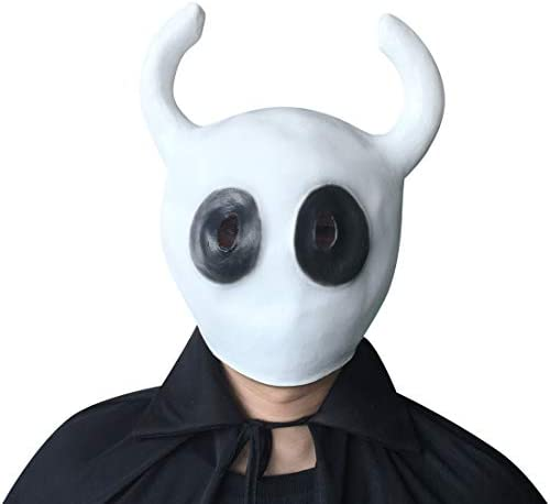 Funny Hollow Knight Mask Game Toy for Teen Adult Children Cosplay Halloween Costume Props White product image