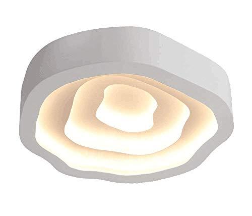 Style home 68W LED Deckenlampe Deckenleuchte nicht dimmbar Warmweiss, moderne Beleuchtung für Wohnzimmer Schlafzimmer Büro usw.
