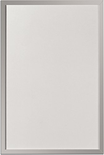 2 Stück Herlitz 10524627 Whiteboard und Magnettafel (silbernen Holzrahmen, 40 x 60cm) weiÃ