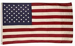2x3 FT US AMERICAN COTTON FLAG EMBROIDERED STARS SEWN STRIPES VALLEY FORGE