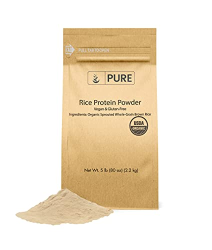 brown rice protein 5lb - 1