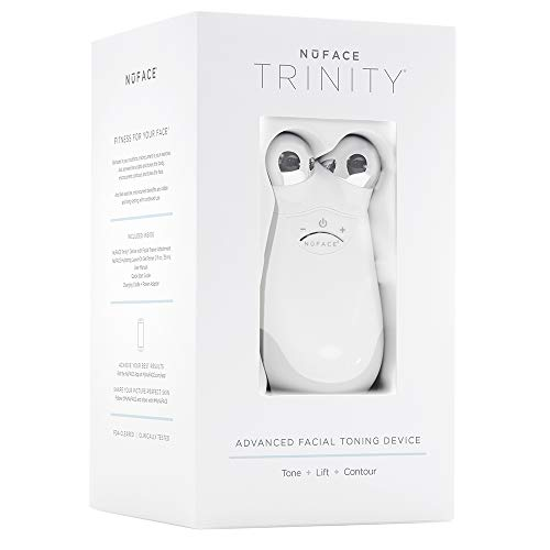 NuFACE Advanced Facial Toning Kit , Trinity Facial Trainer Device & Hydrating Leave-On Gel Primer , Skin Care Device to Lift Contour Tone Skin & Reduce Look of Wrinkles , FDA-Cleared At-Home System