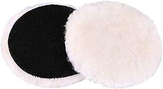 Enchimento de polimento de lã de cordeiro Gracefur, gancho e laço, almofada de corte macia, 7,62 cm/10,16 cm/15,24 cm/17,7...