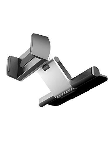 [ネルロッソ] 車載ホルダー スマホホルダー スマホスタンド エアコン アーム 落下防止 コンパクト 車載用 正規品 フリーサイズ ブラック cka24993-Free-bl